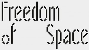 Freedomof Space Schrift