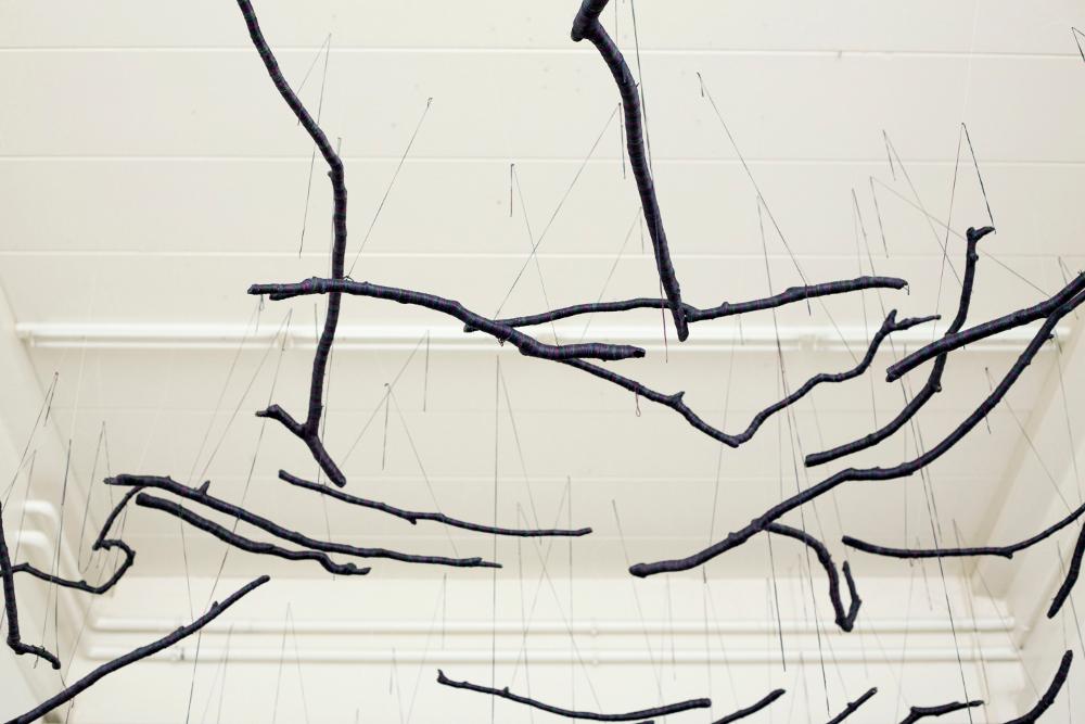 Sunkyung Ji, Die Leichtigkeit und das Schwere, Installation, 2013